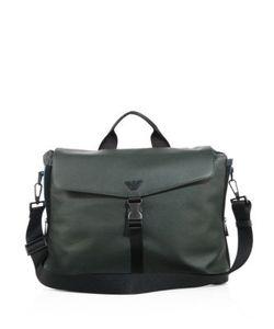 Emporio Armani | Buckle Front Messenger Bag