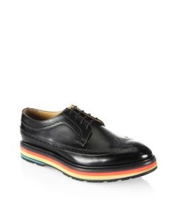 Paul Smith | Grand Wingtip Leather Oxfords