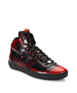 Bally | Eroy Shiny Leather Sneakers