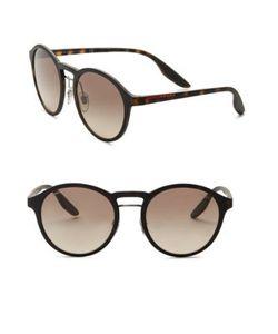 Prada Sport | 53mm Linea Rossa Square Wrap Sunglasses