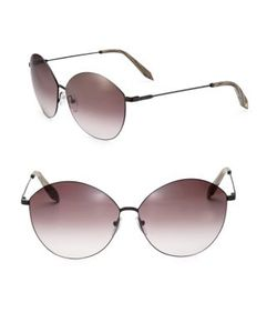 Victoria Beckham | Feather Kitten 58mm Cat Eye Sunglasses