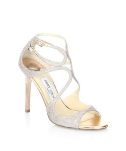 Jimmy Choo | Lang 100 Glitter Sandals