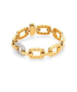Roberto Coin   Pois Moi Diamond 18k Chain Bracelet