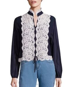 See by Chloé | Cotton Lace Blouse