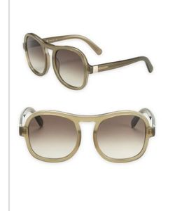 Chloe | Marlow 59mm Oversize Aviator Sunglasses