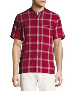 Ovadia & Sons | Crosby Slim-Fit Plaid Shirt
