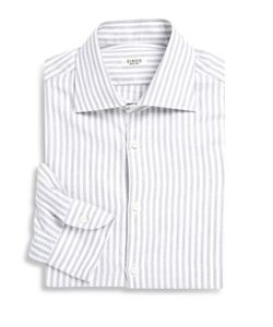 Isaia | University Striped Regular-Fit Dress Shirt