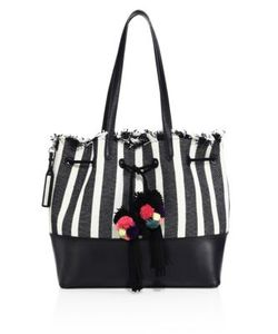 Loeffler Randall | Striped Drawstring Tote