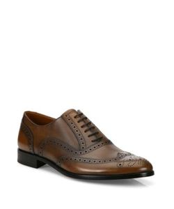 Bally | Bruck Calf Leather Wingtip Oxfords