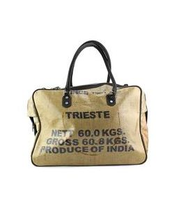 Reuse Design   Trieste Ready For New Life Jute Tote