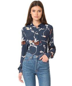 Ganni | Блуза На Пуговицах