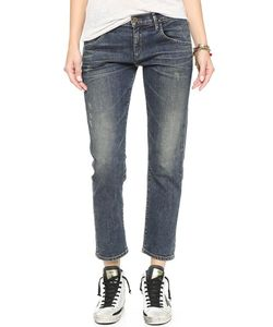 Goldsign | His Cropped Boyfriend Jeans