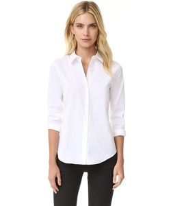 Theory | Luxe Tenia Button Down Blouse