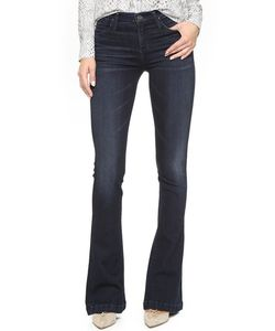 Goldsign | Stella Mid Rise Flare Jeans