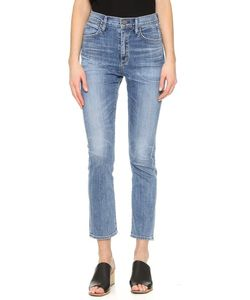 Goldsign | Glenn High Rise Ankle Jeans