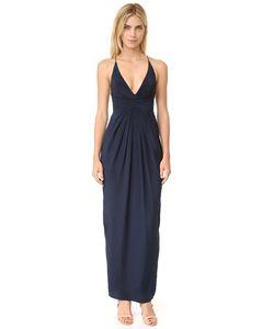 Zimmermann | Silk Crossback Long Dress