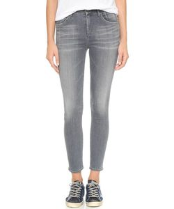 Goldsign | Virtual High Rise Skinny Crop Jeans
