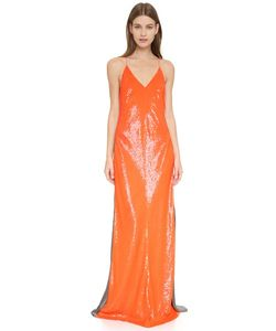 Kaufmanfranco | Sleeveless Sequin Gown