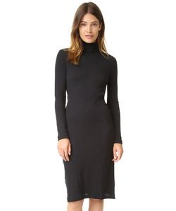 Petit Bateau   2x2 Ribbed Turtleneck Dress