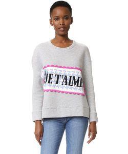 Michaela Buerger | Je Taime Oversized Sweatshirt