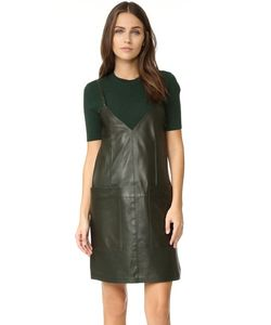 Aeron | Leather Shift Dress