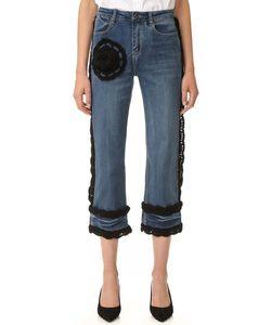 Michaela Buerger | Crochet Crop Jeans