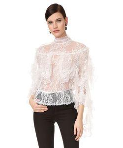 Rodarte   Кружевная Блуза С Многоуровневыми Оборками