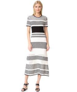 Novis | Платье С Короткими Рукавами Bennington