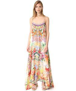 Camilla | Длинное Платье Flower Hour