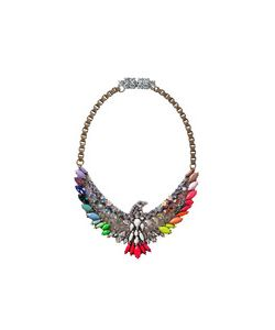 Shourouk | Rainbow Phoenix Necklace