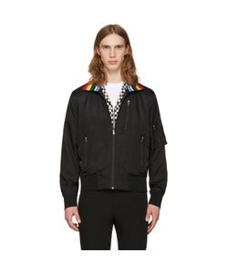 Paul Smith | Striped Collar Bomber Jacket