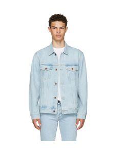 Off-White | Oversized Denim Not Real Angel Jacket