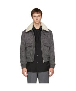 AMI Alexandre Mattiussi | And Shearling Bomber Jacket