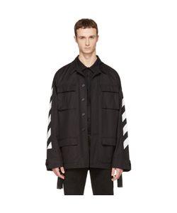 Off-White | Brushed Diagonal Field Jacket