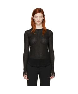 Helmut Lang | Lingerie Knit Pullover