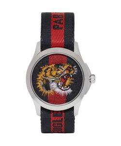 Gucci | And Navy Laveugle Par Amour Tiger Watch