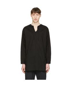 Undecorated Man | Drawstring Collar Shirt