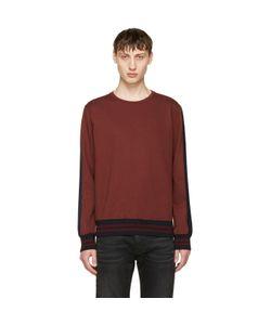 Giuliano Fujiwara   Striped Sleeve Sweatshirt