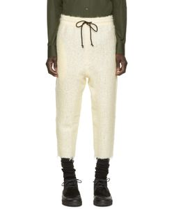 Pigalle | Cream Mohair Trousers