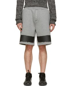 Kris Van Assche | Ssense Exclusive Grey Neoprene Shorts