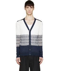 Undecorated Man | Ripple Knit Cardigan