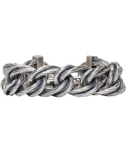 Goti | Twisted Curb Chain Bracelet
