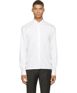 Kris Van Assche | White Classic Roll-Up Shirt