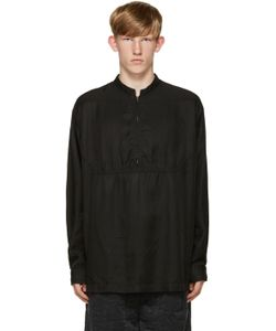 Robert Geller   Black Zip Shirt