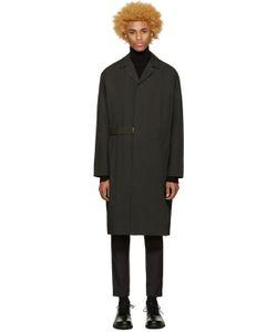 Robert Geller   Black Massimo Coat