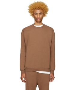 Undecorated Man | Brown Zip Sweatshirt