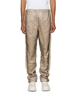 Cottweiler | Beige Layered Glaze Lounge Pants