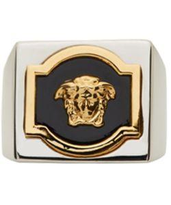 Versace | And Square Medusa Ring