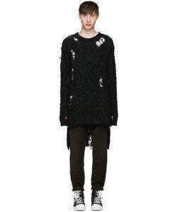 Mihara Yasuhiro | Miharayasuhiro Alpaca Distressed Sweater