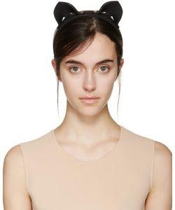 Fleet Ilya | Black Cat Ear Headband